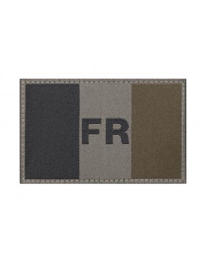IDENTIFICATION FRANCE FLAG PATCH BASSE VISIBILITE